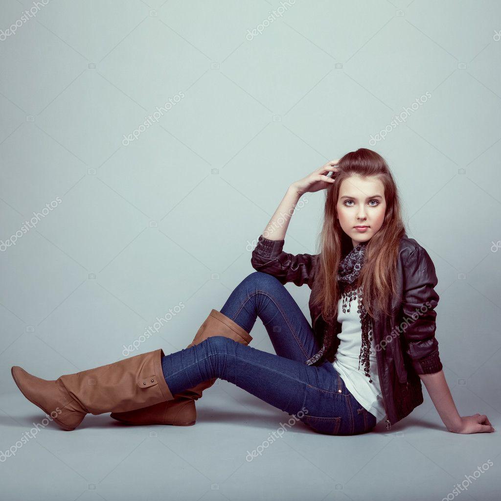 Фото молодые модели в одежде 6 фотография