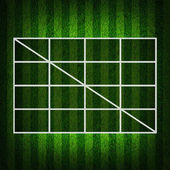Blank Soccer Ball ( Football ) 3x3 Table score — Stock Photo