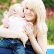 Mother and baby — Stock Photo #8139389