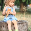 Child with ice-cream — Stock Photo #8139832