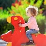 Child on playground — Stock Photo