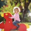 Stock Photo: Rocking horse