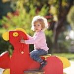 Rocking horse — Stockfoto