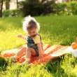 Picnic in park — Stock Photo #8139930