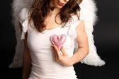 Angel heart — Stockfoto