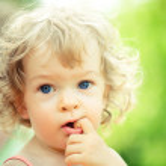 Smiling child — Stock Photo