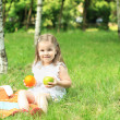 Picnic in park — Stock Photo #8140229