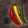 Hot chili peppers — Stock Photo #8140463