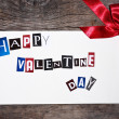 Stock Photo: Valentine card