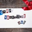 Valentine card — Stock Photo