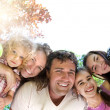 Stock Photo: Happy family