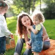 Family on picnic — Stock Photo #8178278