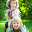Children having picnic — Stock Photo #9152194
