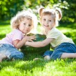 Children having picnic — Stock Photo #9152219