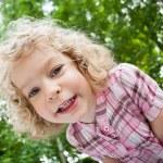 Portrait of smiling child — Stock Photo