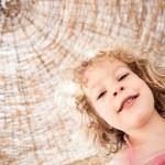 Happy child at the beach — Stock Photo #9716322