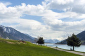 Sud tirol landscape — Stock Photo