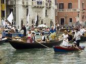 VENICE, ITALY - SEPTEMBER 2011 - Historical Regatta of Venice 4 — Stock Photo
