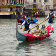 VENICE, ITALY - SEPTEMBER 2011 - Historical Regatta of Venice 4 — Stock Photo