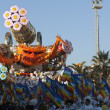 VIAREGGIO, ITALY parade of allegorical chariot — Stock Photo #9000082