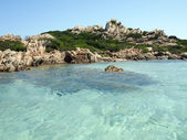 Landscape of Emerald Coast, Sardinia, Italy — Stockfoto