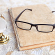 Stock Photo: Reading glasses
