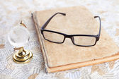 Reading glasses — Foto Stock