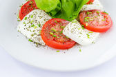 Tricolor salad — Stock Photo
