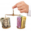 Monetary stability concept — Stock Photo