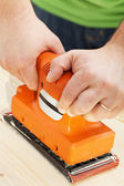 Handy sander machine — Stock Photo