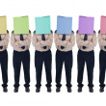 Illusion of choice - fake diversity concept — Stock Photo
