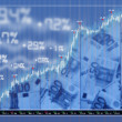 Stock Photo: Stock exchange market background