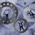 Teamwork and team effort concept — Stock Photo