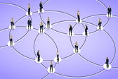 Social networking — Stock Photo