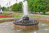 Old Fountain in VVC (VDNH), Moscow — Stock Photo