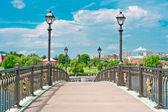 Bridge in Tsaritsino Park, Moscow — Stock Photo