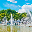 Fountain in Gorky Park, Moscow — Stock Photo