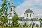Kościół w park Carycyno, Moskwa — Zdjęcie stockowe