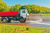 Watering car — Stock Photo