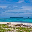 Stockfoto: Desert islands in IndiOcean, Banyak Archipelago