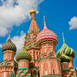 Stock Photo: Saint Basil Cathedral in Moscow