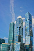 Skyscrapers of Moscow — Stock Photo