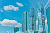 Internationale business-center — Stockfoto