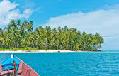 Desert island, Banyak Archipelago — Stock Photo