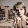 Stock Photo: Demolition boy