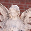 Angel sculpture — Stock Photo