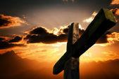 Passion cross — Stock Photo
