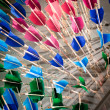 Colored arrows — Stock Photo