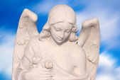 Female angel — Stock Photo