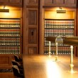 Law book library — Stock Photo #10528912